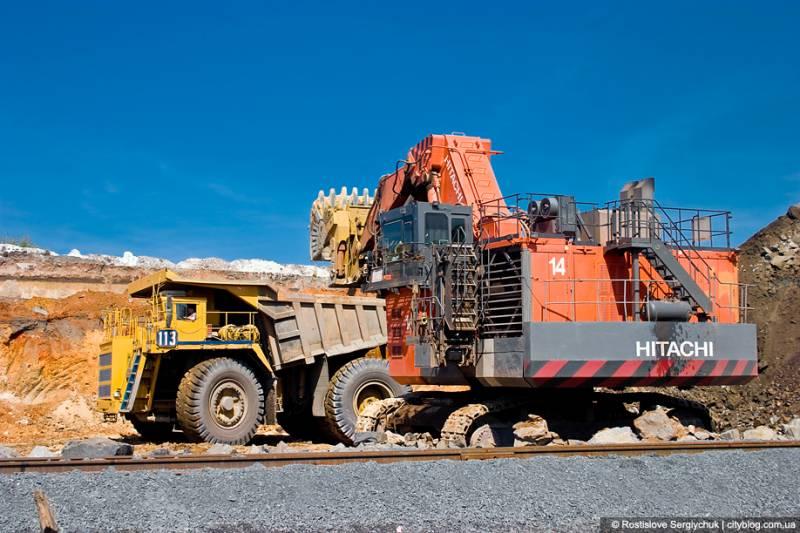Месторождение железной руды часто связаны со щитами